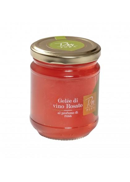 Gelée di Vino Rosato al profumo di Rosa